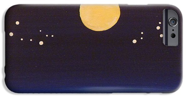 Fate Paintings iPhone Cases - Gemini and Leo iPhone Case by Alys Caviness-Gober