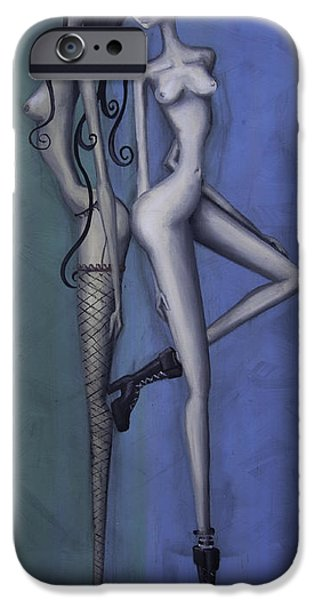 Boots iPhone Cases - Georges Girls iPhone Case by Kelly Jade King