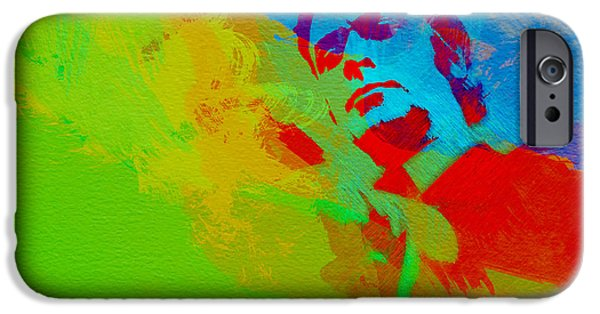 Michael Paintings iPhone Cases - Get Carter iPhone Case by Naxart Studio