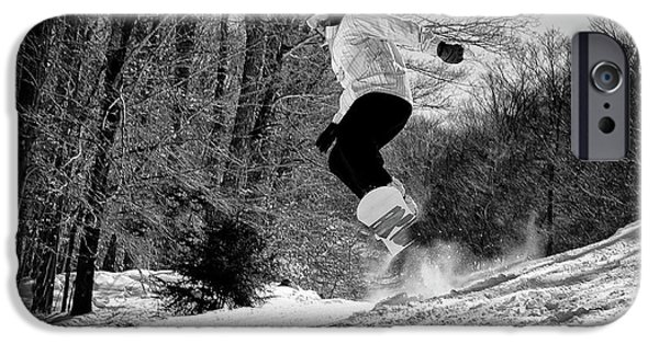 IPhone 6 Case featuring the photograph Getting Air On The Snowboard by David Patterson