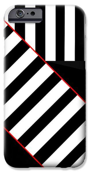 Asbjorn Lonvig Digital iPhone Cases - Ginza The Babel Legend iPhone Case by Asbjorn Lonvig