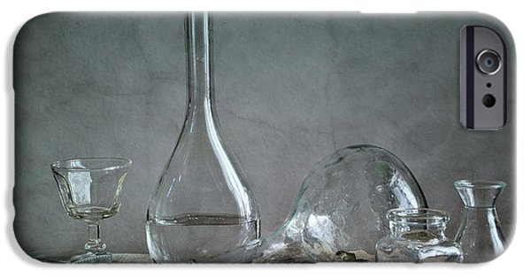 Glass Reflections iPhone Cases - Glass iPhone Case by Nailia Schwarz