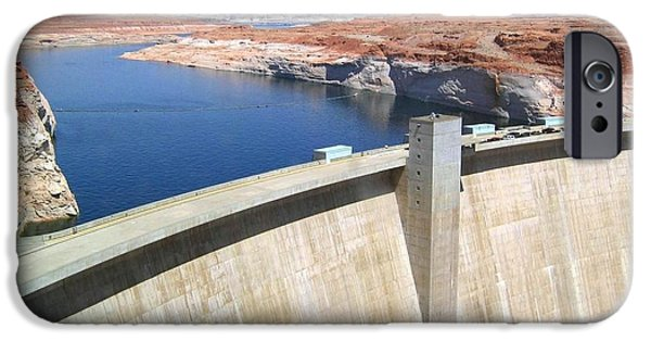 Will Power iPhone Cases - Glen Canyon Dam iPhone Case by Will Borden