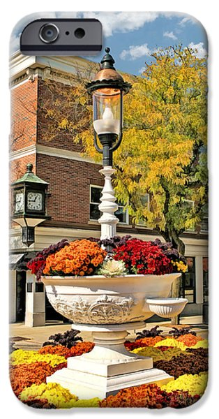 IPhone 6 Case featuring the painting Glen Ellyn Watering Trough by Christopher Arndt