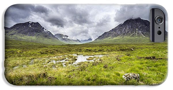 IPhone 6 Case featuring the photograph Glencoe by Jeremy Lavender Photography