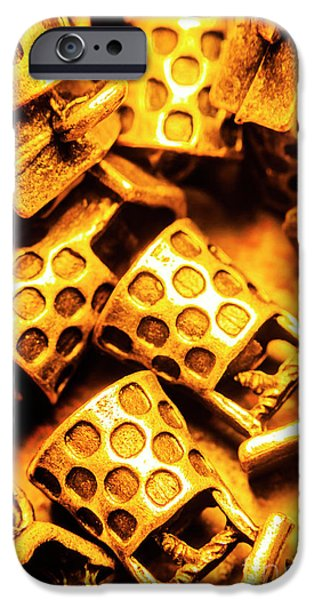 Donation iPhone 6 Case - Gold Treasures by Jorgo Photography - Wall Art Gallery