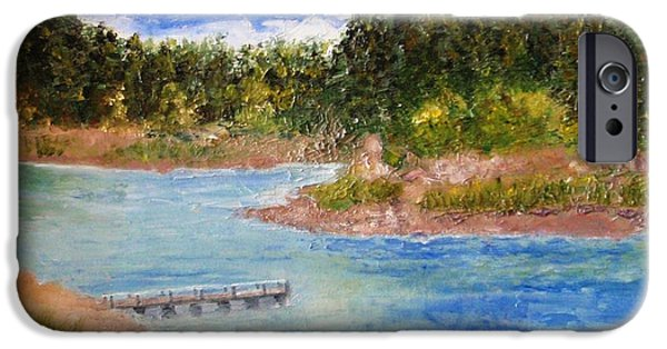 Prescott iPhone Cases - Goldwater Lake iPhone Case by Jamie Frier