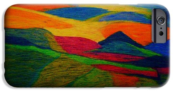 Organic Pastels iPhone Cases - Good Morning iPhone Case by Dorneisha Batson