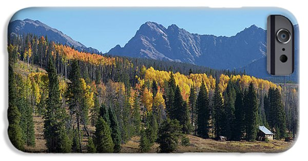 IPhone 6 Case featuring the photograph Gore Autumn by Aaron Spong