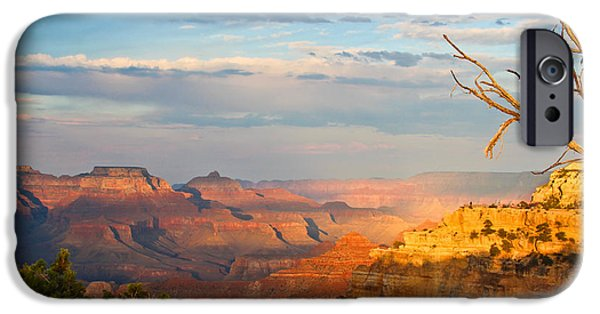 Grand Canyon iPhone Cases - Grand Canyon Splendor iPhone Case by Heidi Smith