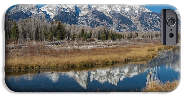 IPhone 6 Case featuring the photograph Grand Tetons by Gary Lengyel