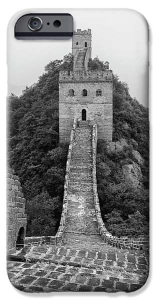 IPhone 6 Case featuring the photograph Great Wall 1, Jinshanling, 2016 by Hitendra SINKAR