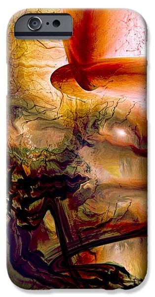Energy Art Movement iPhone Cases - Gravity Of Love iPhone Case by Linda Sannuti