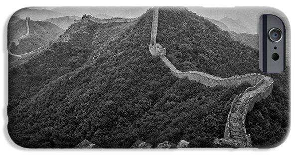 IPhone 6 Case featuring the photograph Great Wall 2, Jinshanling, 2016 by Hitendra SINKAR