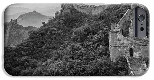 IPhone 6 Case featuring the photograph Great Wall 3, Jinshanling, 2016 by Hitendra SINKAR