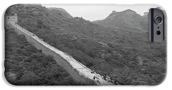 IPhone 6 Case featuring the photograph Great Wall 4, Jinshanling, 2016 by Hitendra SINKAR