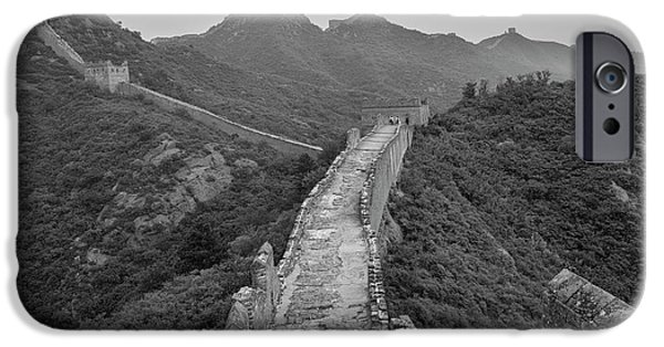 IPhone 6 Case featuring the photograph Great Wall 6, Jinshanling, 2016 by Hitendra SINKAR