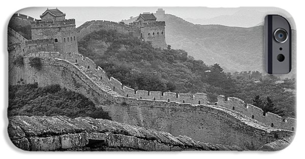 IPhone 6 Case featuring the photograph Great Wall 7, Jinshanling, 2016 by Hitendra SINKAR