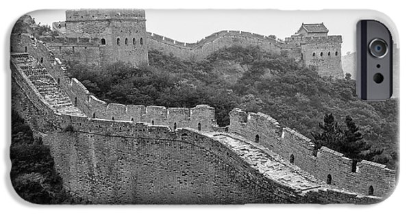 IPhone 6 Case featuring the photograph Great Wall 8, Jinshanling, 2016 by Hitendra SINKAR