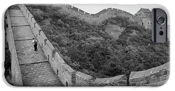 IPhone 6 Case featuring the photograph Great Wall 9, Jinshanling, 2016 by Hitendra SINKAR