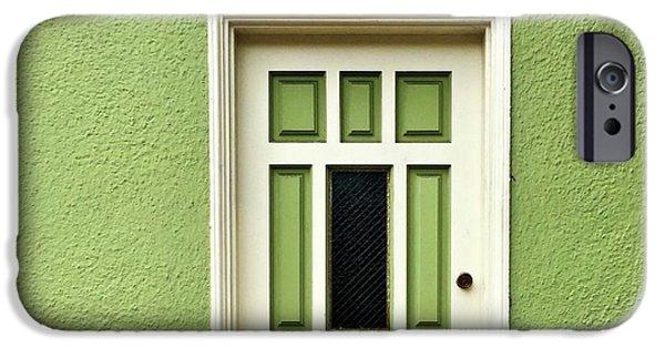 iPhone 6 Case - Green Door Detail by Julie Gebhardt