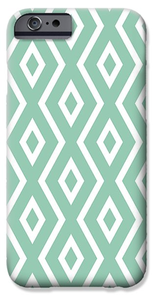 Green Pattern IPhone 6 Case
