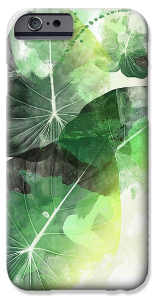 Dissing iPhone 6 Case - Green Tropical by Mark Ashkenazi