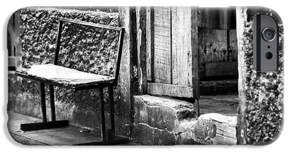 Interior Scene iPhone Cases - Gritty Panama iPhone Case by John Rizzuto