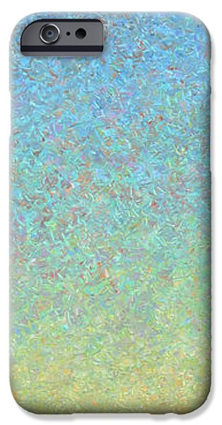 Texture Paintings iPhone Cases - Guard iPhone Case by James W Johnson