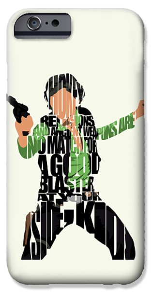 Star iPhone 6 Case - Han Solo From Star Wars by Inspirowl Design