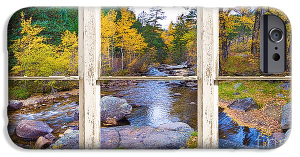 James Bo Insogna iPhone Cases - Happy Place Picture Window Frame Photo Fine Art iPhone Case by James BO  Insogna