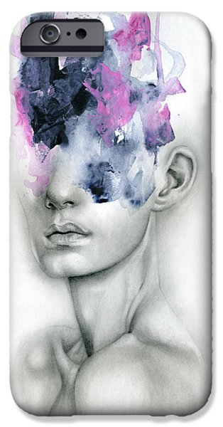 Abstract iPhone 6 Case - Harbinger by Patricia Ariel
