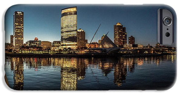 IPhone 6 Case featuring the photograph Harbor House View by Randy Scherkenbach
