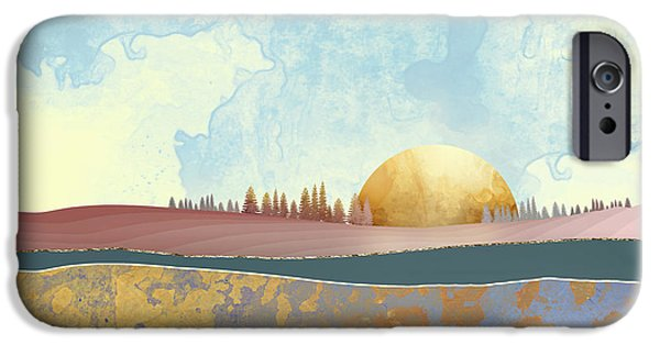 Landscapes iPhone 6 Case - Hazy Afternoon by Katherine Smit