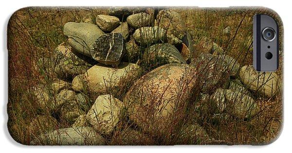 Heap Of Rocks IPhone 6 Case by Nareeta Martin