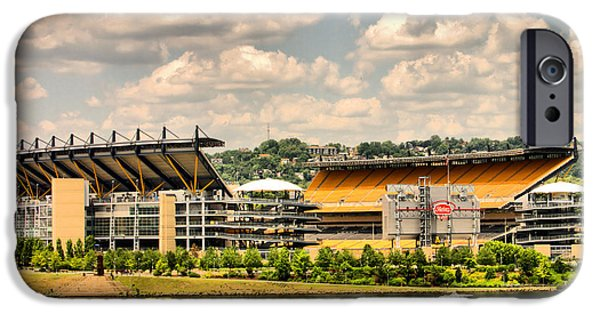Heinz Field iPhone Cases - Heinz HDR iPhone Case by Arthur Herold Jr