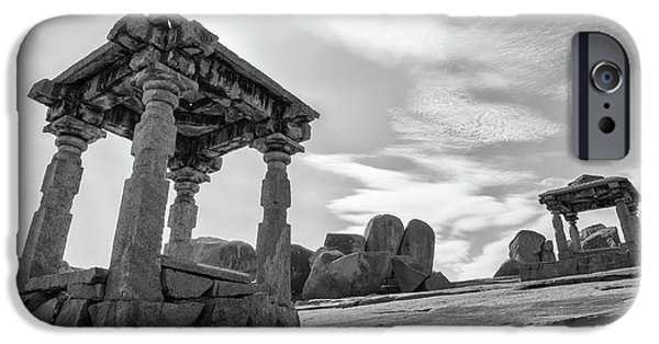 IPhone 6 Case featuring the photograph Hemakuta Hill, Hampi, 2017 by Hitendra SINKAR
