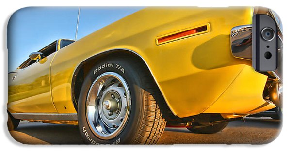 440 iPhone Cases - Hemi Cuda - Ready for Take Off iPhone Case by Gordon Dean II