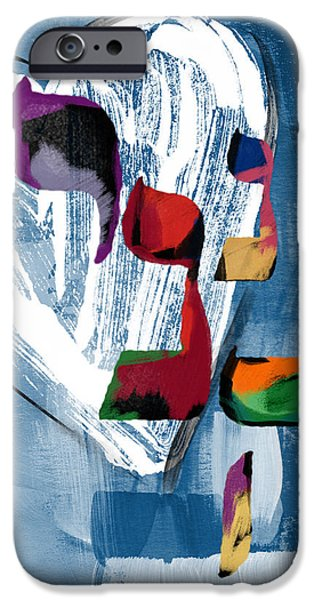Bat iPhone 6 Case - Hineni Heart- Art By Linda Woods by Linda Woods