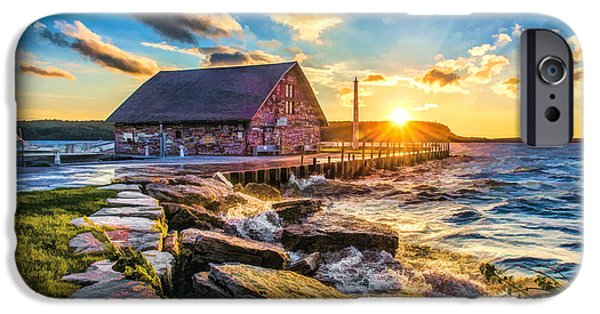 Historic Anderson Dock In Ephraim Door County IPhone 6 Case