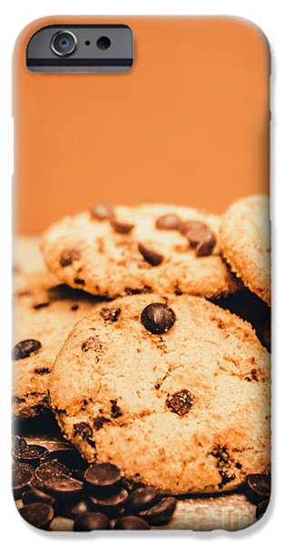 Brown iPhone 6 Case - Home Baked Chocolate Biscuits by Jorgo Photography - Wall Art Gallery