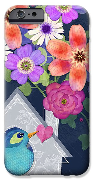 Home Is Where You Bloom IPhone 6 Case