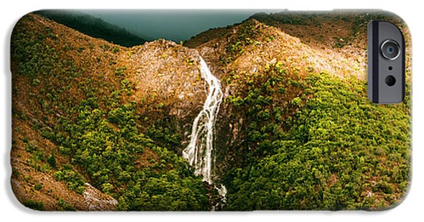 Horsetail Falls In Queenstown Tasmania IPhone 6 Case