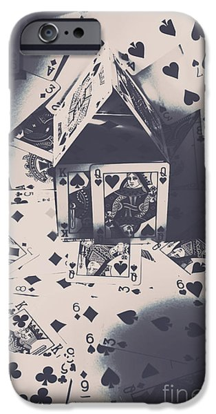 IPhone 6 Case featuring the photograph House Of Cards by Jorgo Photography - Wall Art Gallery