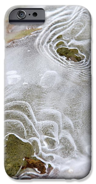 IPhone 6 Case featuring the photograph Ice Abstract by Christina Rollo