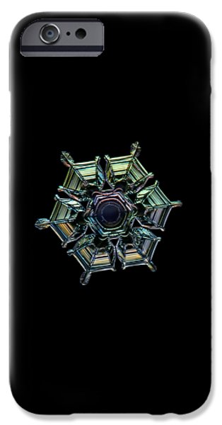 Ice Relief, Black Version IPhone 6 Case