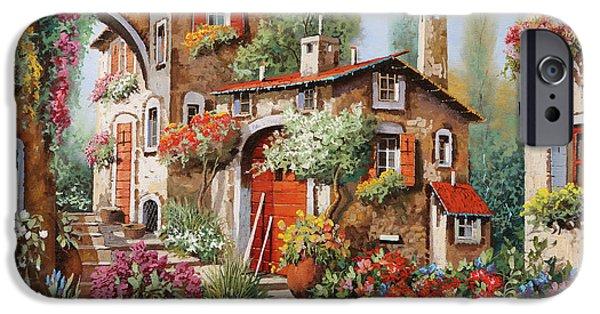 Village iPhone 6 Case - Il Villaggio by Guido Borelli