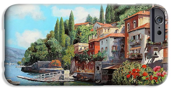 Lake iPhone 6 Case - Impressioni Del Lago by Guido Borelli