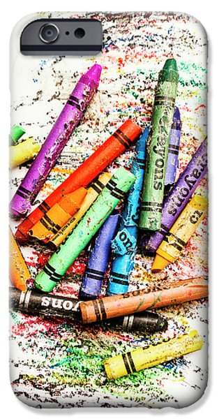 In Colours Of Broken Crayons IPhone 6 Case