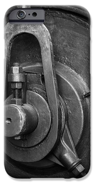 Industry iPhone Cases - Industrial detail iPhone Case by Carlos Caetano